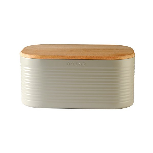Typhoon Stone Ripple Bread Box, 16-1/2 by 10-1/4 by 7-3/4-Inches