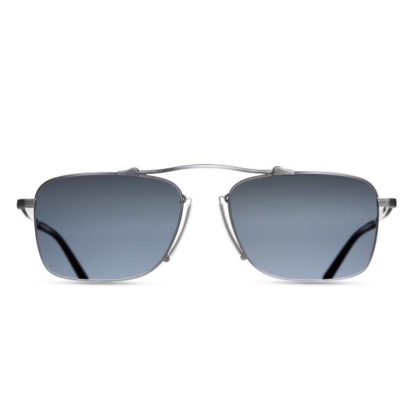 Matsuda M3037 Silver Aviator Sunglasses