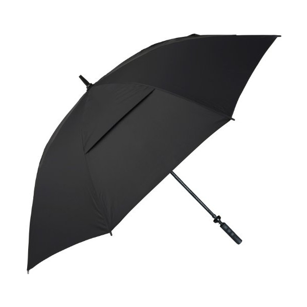 Haas-Jordan 68-Inch Hurricane 345 Tour Plus Umbrella, Black