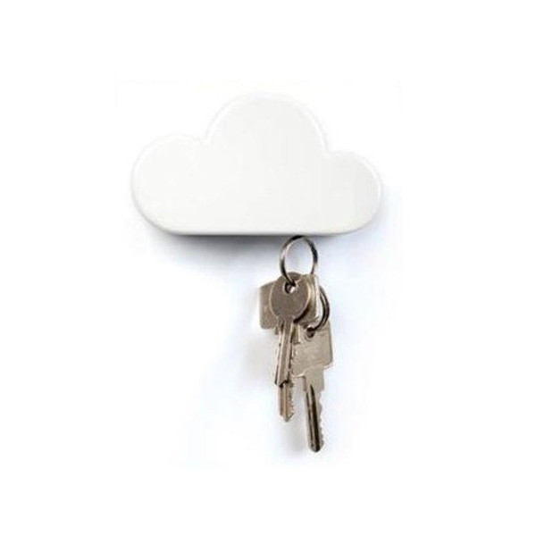Autek Cloud Shaped Magnetic Wall Hook/Key Holder