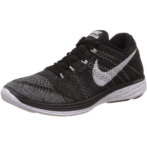 Nike Flyknit Lunar 3 (Black, Midnight Fog) Sz. 9