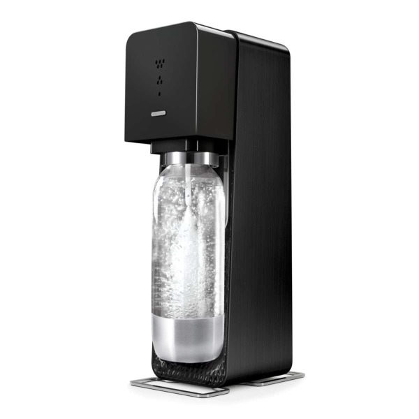 SodaStream Source Home Soda Maker Starter Kit, Black
