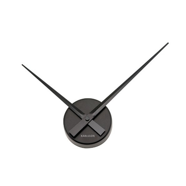 Karlsson Wall Clock Little Big Time Mini, Black
