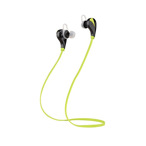 Intcrown S520 Wireless Bluetooth Headphones Noise Cancelling Mini Lightweight Stereo (Sports/running & Gym/exercise) Bluetooth Earbuds Headsets Earphones W/microphone for iPhone 6,6 Plus, 5 5s 4 , for iPad 2 3 4 New iPad, for Android, for Samsung Galaxy,
