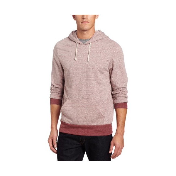 Alternative Men's Hoodlum Hoodie, Eco Port Herringbone, Large