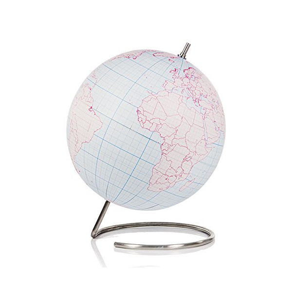 SUCK UK Globe Journal, Large, Multicolor