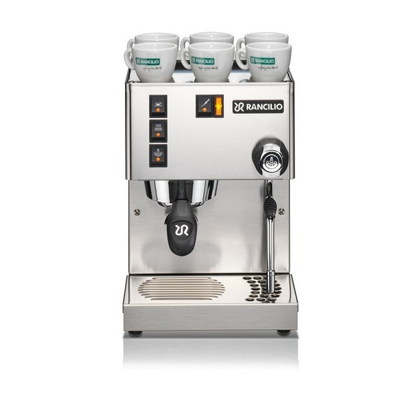 Silvia Commercial-Grade Stainless Steel Espresso Machine - Rancilio