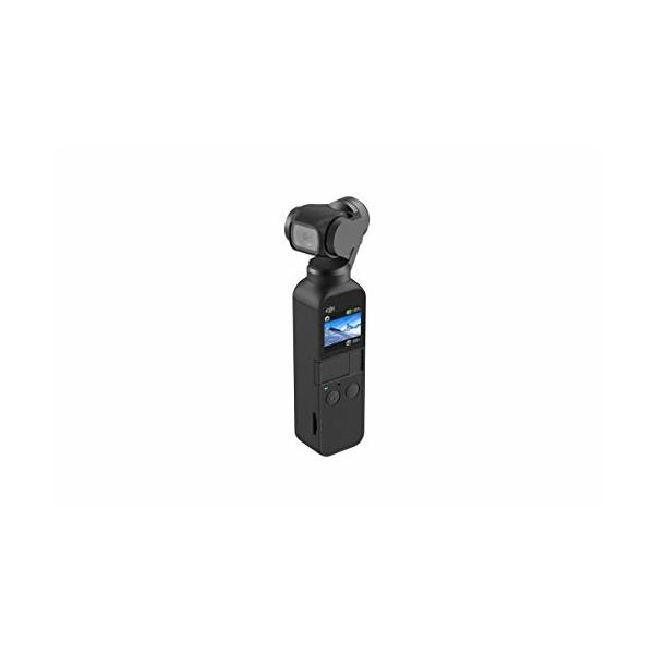 DJI Osmo Pocket Handheld 3 Axis Gimbal Stabilizer with integrated Camera, Attachable to Smartphone, Android (USB-C), iPhone