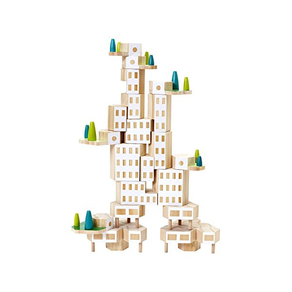 Areaware Blockitecture Garden City Building Kit