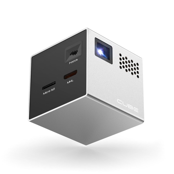 RIF6 CUBE, Pocket Size Home Cinema