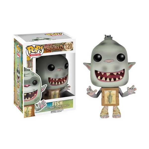 Funko POP! Movies: The Boxtrolls Fish Figure