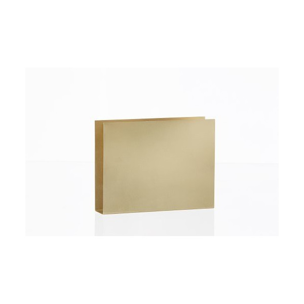 FERM LIVING 4114 Brass Series - Brass Wall Square W: 20 x H: 15 x D: 4 cm