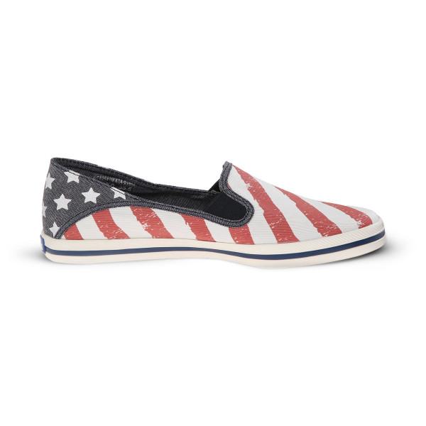Keds Women's Crashback Patriotic Slip-On Sneaker