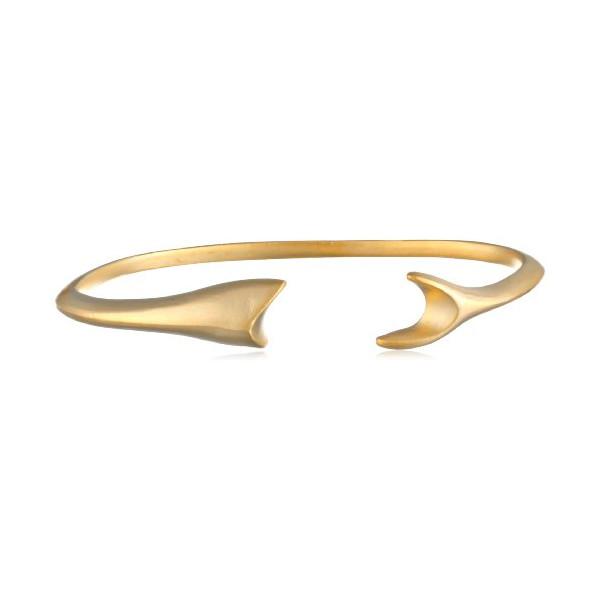 Tai Gold Shark Cuff Bracelet