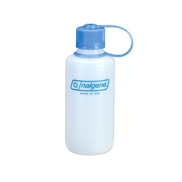 Nalgene HDPE Narrow Mouth Water Bottle, 1-Quart