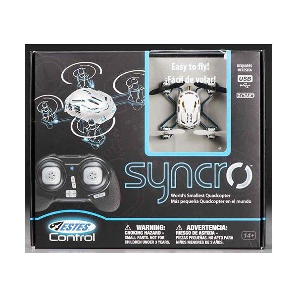 Estes 4609 Syncro X Nano R/C Quadcopter, White