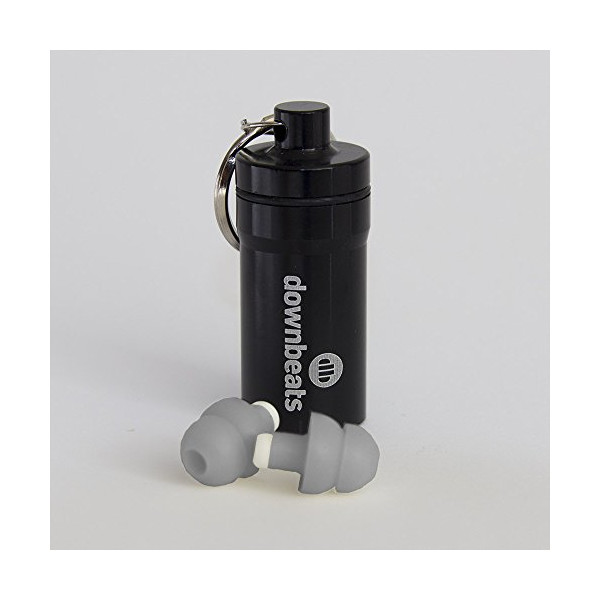 DownBeats Long Stem: Reusable High Fidelity Hearing Protection for Concerts, Music, Musicians, DJs, Percussion, Drums, Guitars, and Clubs