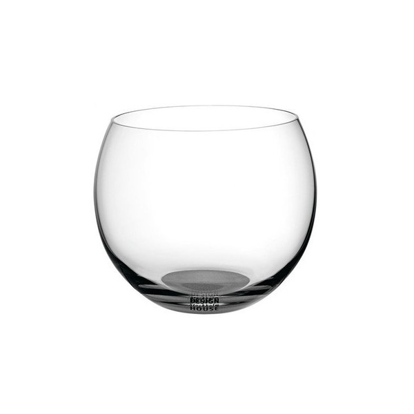 Globe Glasses in Clear by Ulla Christiansson Size: 10 fl.oz.