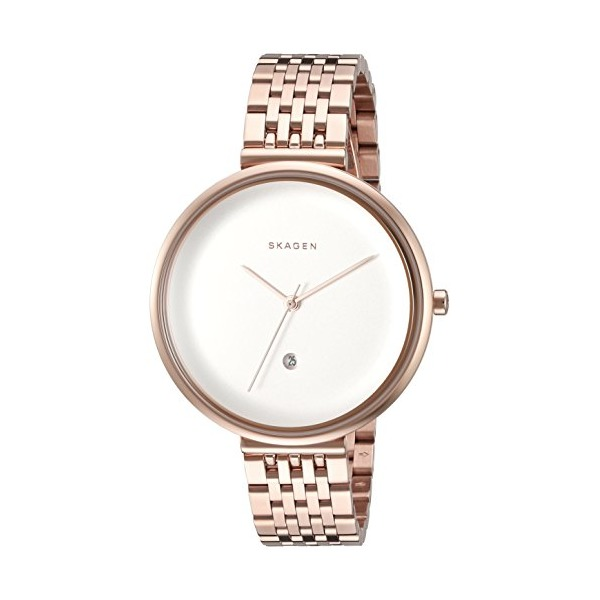 Skagen Women's 'Gitte' Quartz Stainless Steel Casual Watch (Model: SKW2421)
