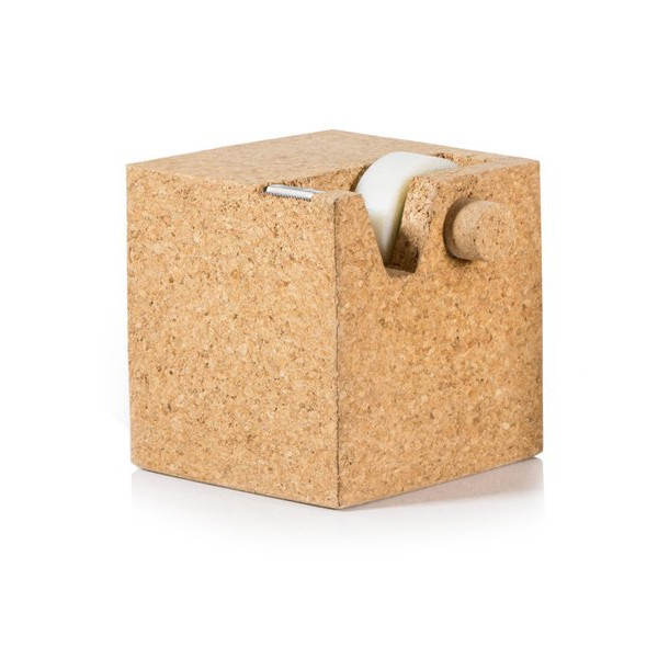 SUCK UK Cork Cube Tape Dispenser