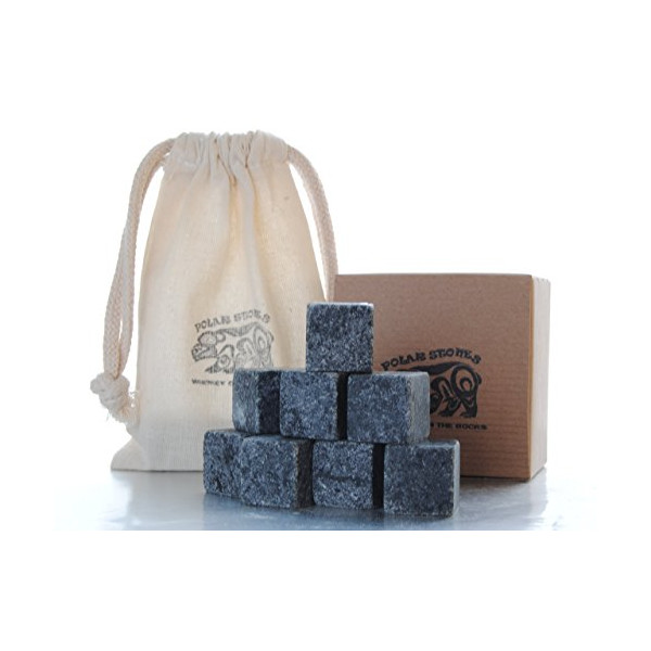 Handcrafted Soapstone Whiskey Stones - Set of 9