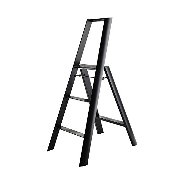 lucano step stool 3step Black