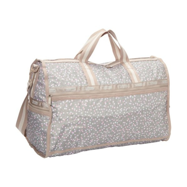 LeSportsac Large Weekender Nylon Duffle Bag,Speckles,One Size