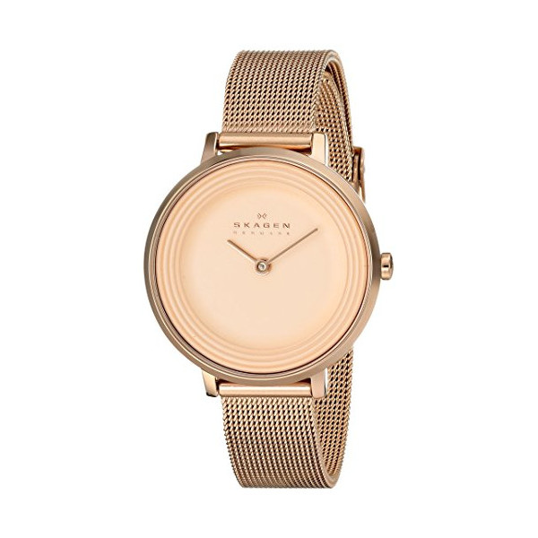 Skagen Women's SKW2213 Ditte Rose Gold-Tone Stainless Steel Watch