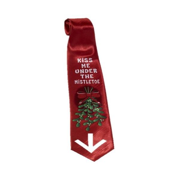 Christmas Tie - Mistletoe