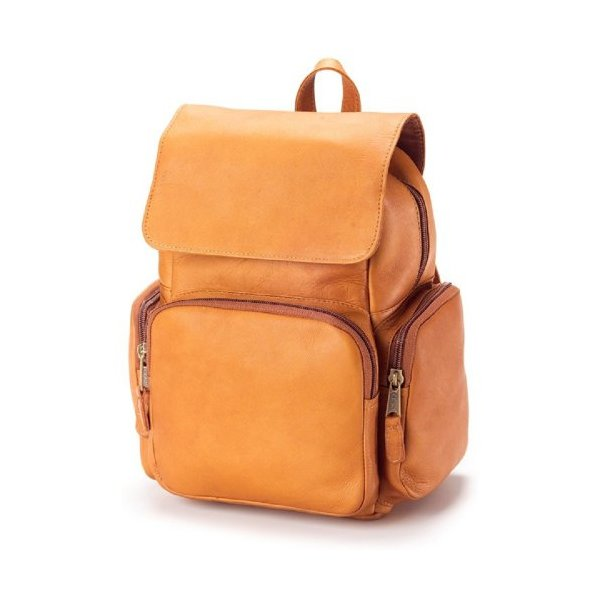 Multi-Mini Leather Backpack