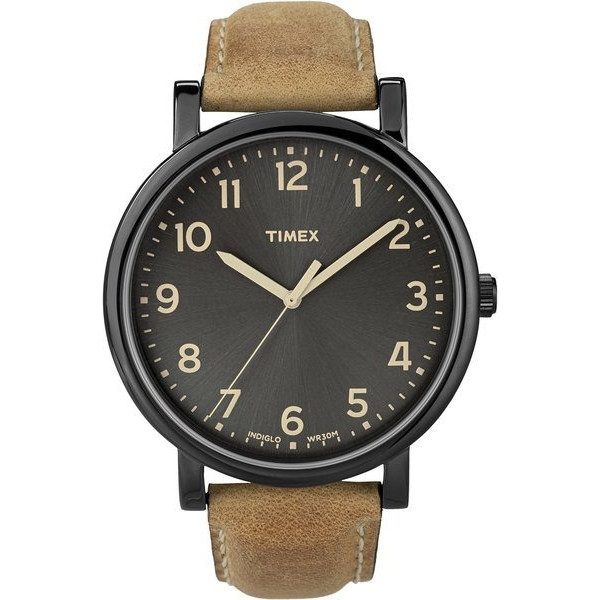 Timex Premium Originals Black Tan Men's Watch