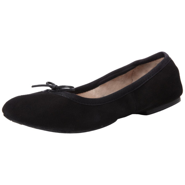Bloch London Women's Alina Ballet Flat,Black,38.5 EU/8.5 M US