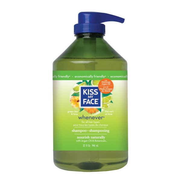 Kiss My Face Whenever Shampoo 946 ml (32 oz)