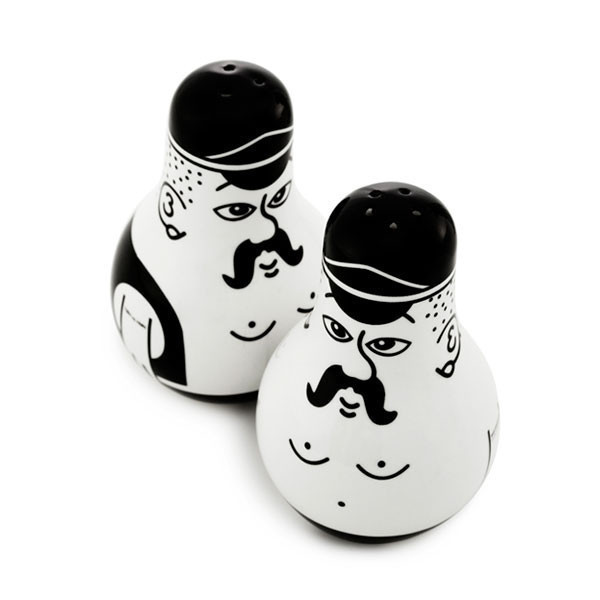 Friends Salt & Pepper Shaker Set by Normann Copenhagen
