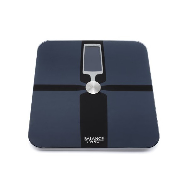 Balance Living TM Precision LIFE TRACK Body Analysis Scale w/ 400 lb. Capacity & Auto Recognition Technology