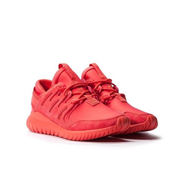 Adidas Men Tubular Nova (red / black) Size 4 US