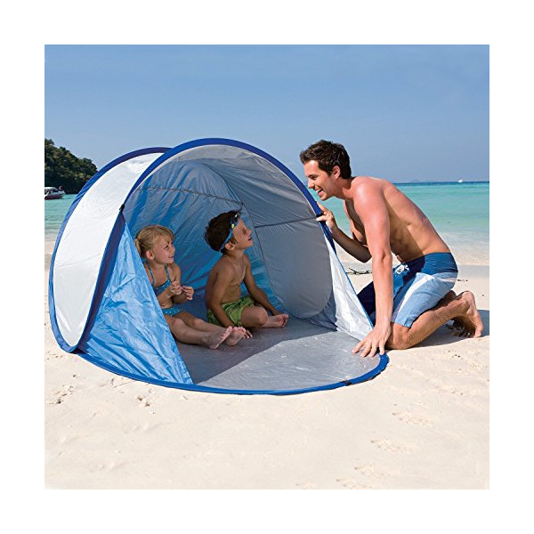 Secura Pop Up Tent UPF 40 + UV Protection Beach Camping Festival Sun Shelter