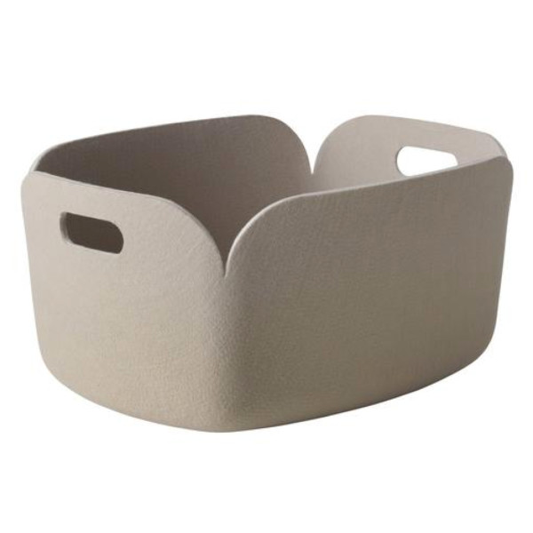 Muuto Restore Storage Basket, Sand - on Amazon