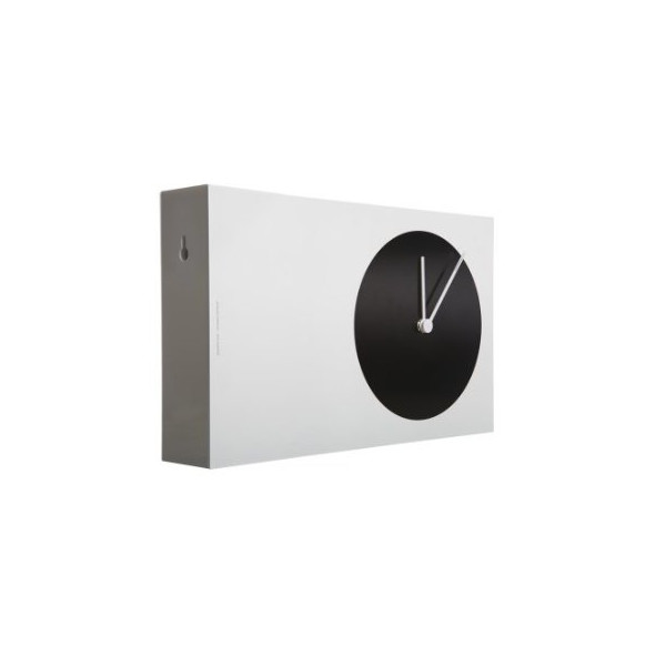 Areaware Twice Twice Clock, Dot