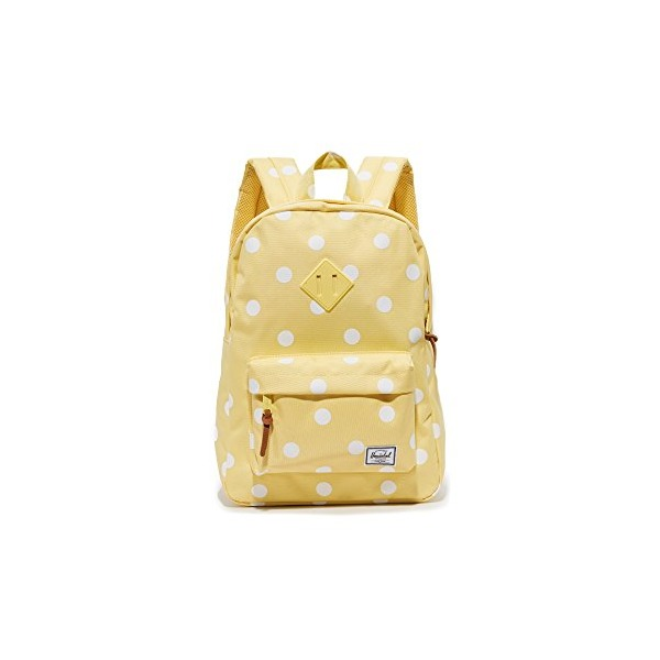 Herschel Supply Co. Women's Mini Heritage Backpack, Popcorn/Natural Polka Dots, One Size