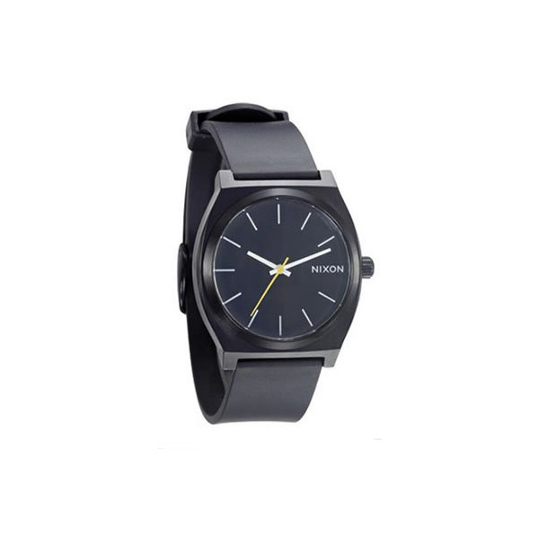 Nixon Men's A119-000 Minimal The Time Teller Analog Black Dial Watch