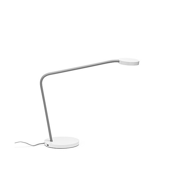Gray Limber LED Task Lamp