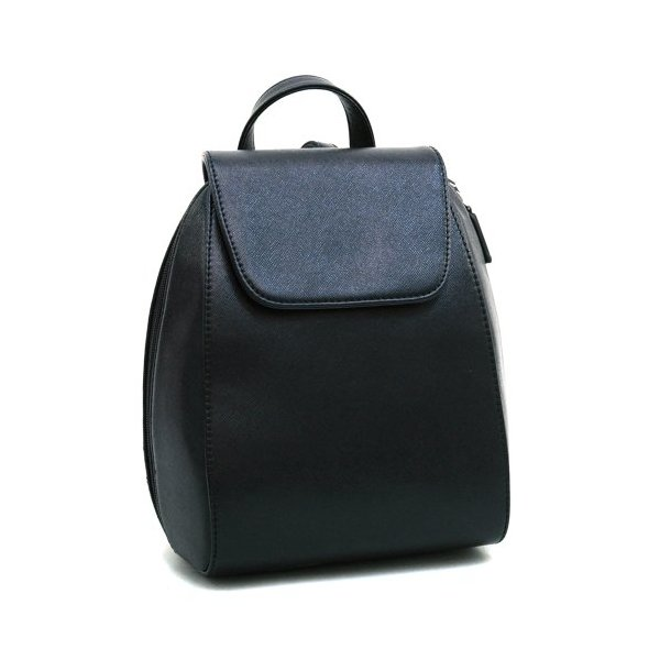 Designer Inspired Women's Classic Mini Fashion Backpack Black