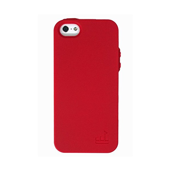 SlimClip Case V2 for iPhone 5 & iPhone 5S by theWTFactory (Red)