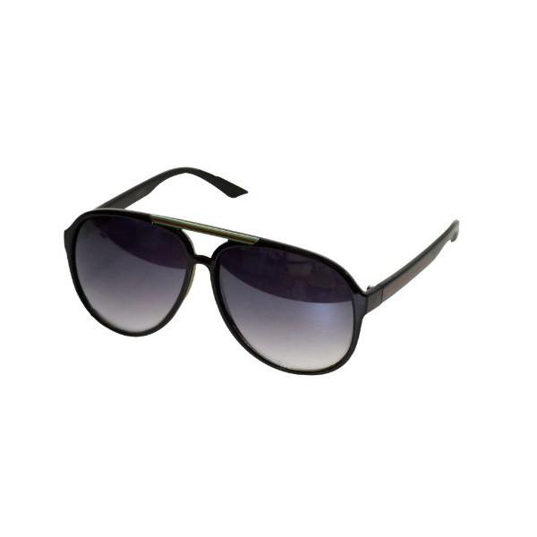 Oversized Plastic Aviator Sunglasses - Retro Sunglasses/classic Aviators Large Classic Black Retro
