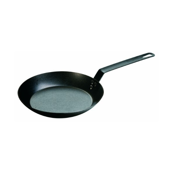 Lodge CRS10 Pre-Seasoned Carbon Steel Skillet, 10-inch