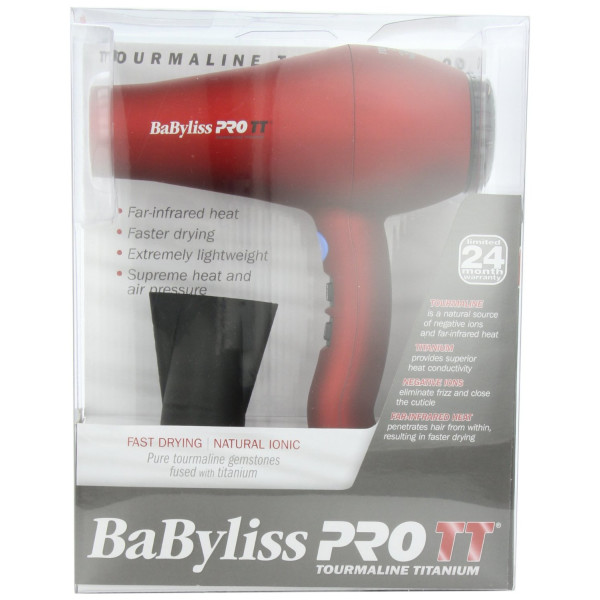 Babylis Pro BABTT5585 Tourmaline Titanium 3000 Dryer