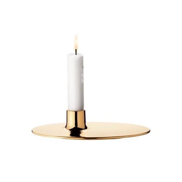 Georg Jensen ILSE candleholder - brass