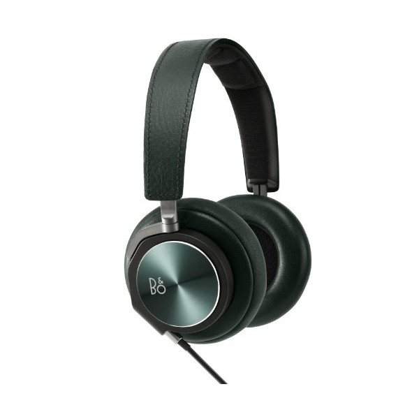 B&O Play Over-Ear Headphones by Bang & Olufsen BeoPlay H6 / Leather/Aluminium Green