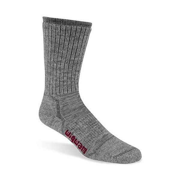 Wigwam Men's Lite Hiker Socks, Charcoal, Large